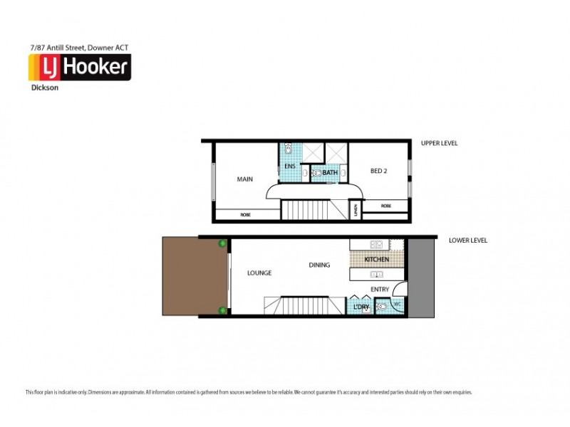 3/87 Antill Street, Downer ACT 2602 Floorplan