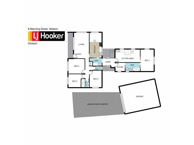 8 Manning Street, Watson ACT 2602 Floorplan