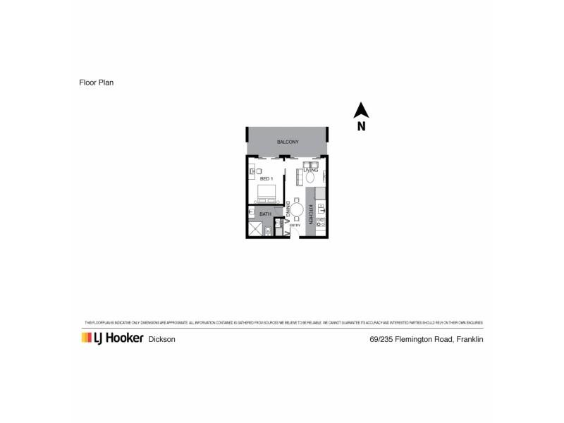 69/235 Flemington Road, Franklin ACT 2913 Floorplan