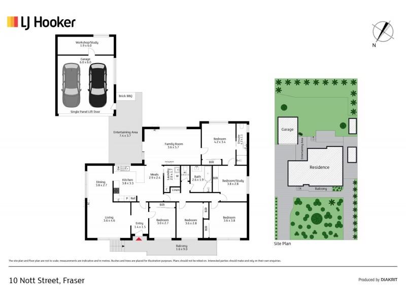 10 Nott Street, Fraser ACT 2615 Floorplan