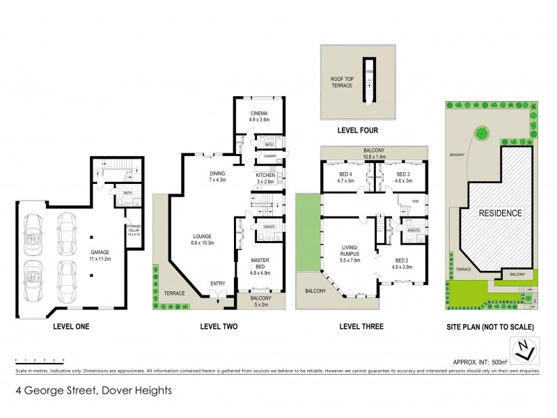 4 George Street, Dover Heights NSW 2030 Floorplan