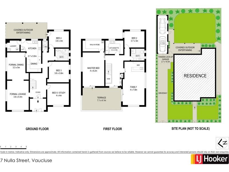 7 Nulla Street, Vaucluse NSW 2030 Floorplan
