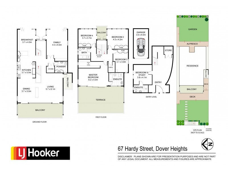 67 Hardy Street, Dover Heights NSW 2030 Floorplan