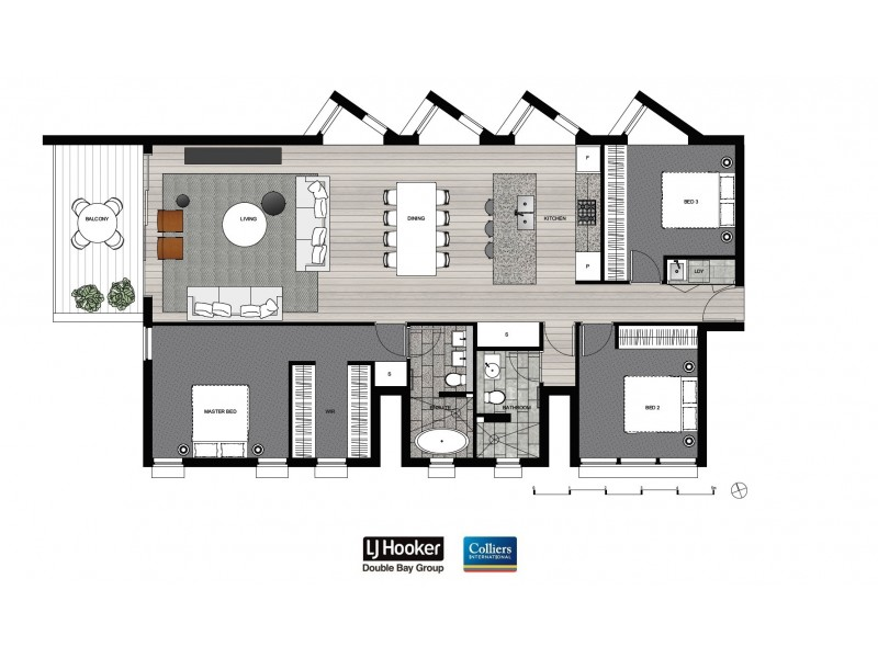 3.02/67-69 Penkivil Street, Bondi NSW 2026 Floorplan