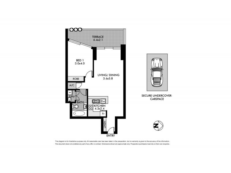 24/17-23 Newland Street, Bondi Junction NSW 2022 Floorplan
