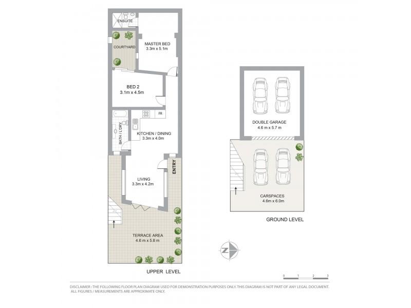1/6 Shaw Street, North Bondi NSW 2026 Floorplan