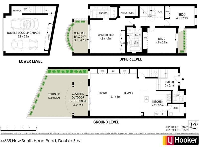 4/335 New South Head Road, Double Bay NSW 2028 Floorplan