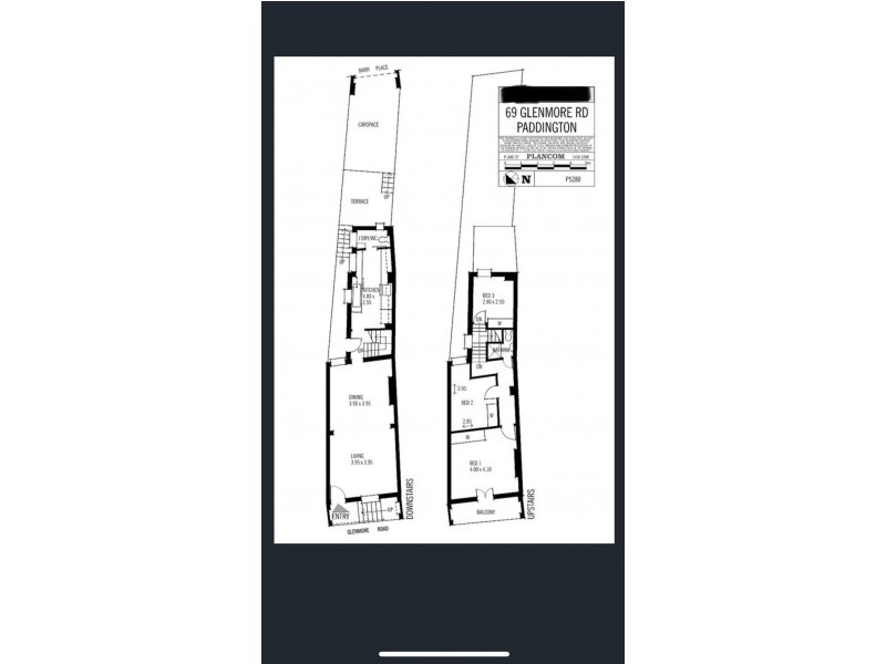 69 Glenmore Road, Paddington NSW 2021 Floorplan
