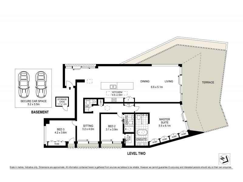 Darling Point NSW 2027 Floorplan