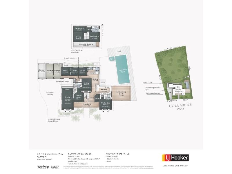 39-41 Columbine Way, Gaven QLD 4211 Floorplan