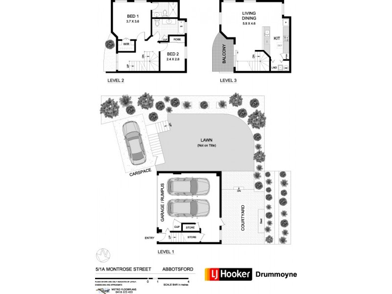 5/1A Montrose Road, Abbotsford NSW 2046 Floorplan