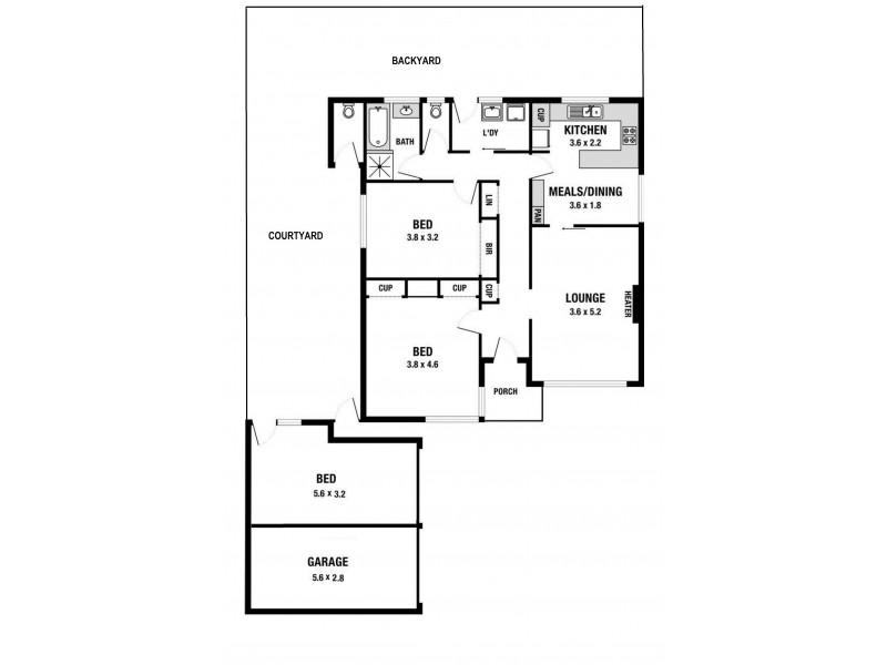 4/26 Katandra Road, Ormond VIC 3204 Floorplan