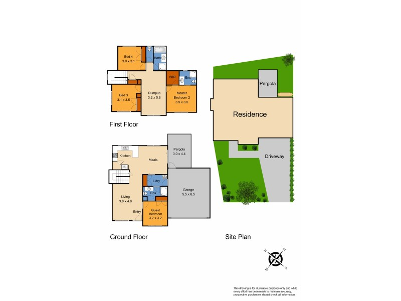 1/90 Rebecca Street, Doveton VIC 3177 Floorplan