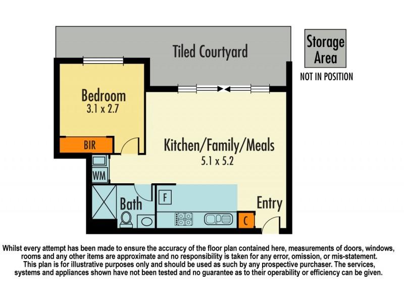 202/79 Ann Street, Dandenong VIC 3175 Floorplan