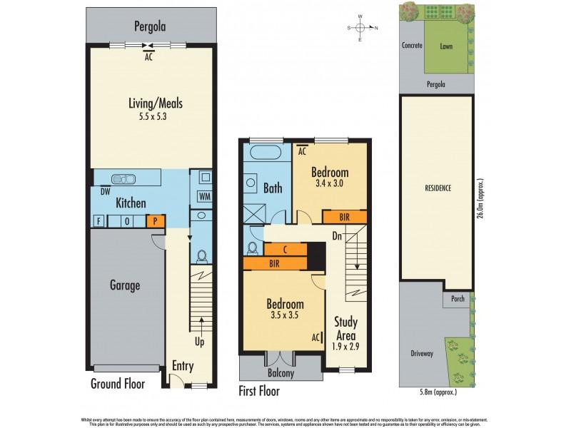 16 Allan Street, Dandenong VIC 3175 Floorplan