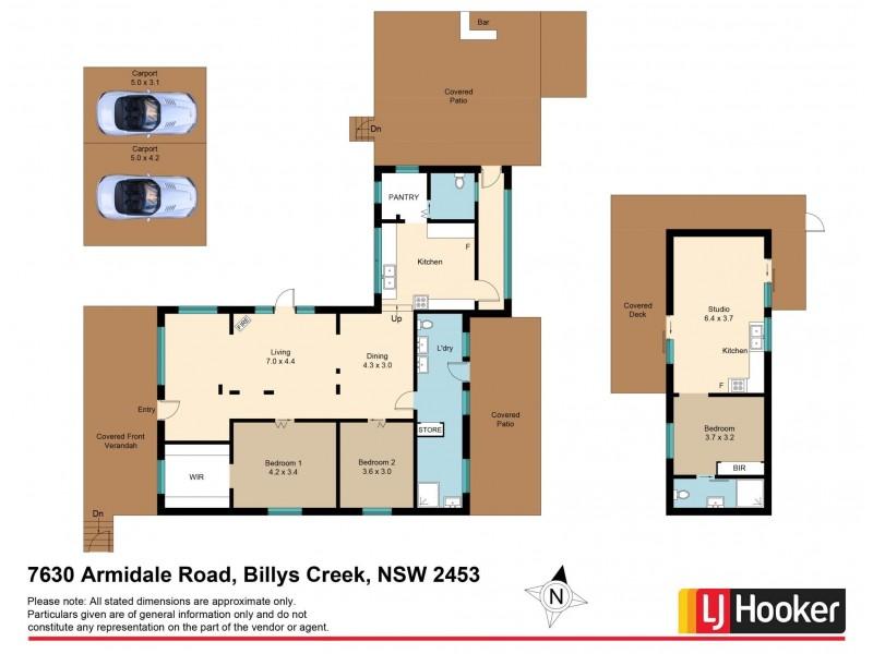7630 Armidale Road, Dorrigo NSW 2453 Floorplan