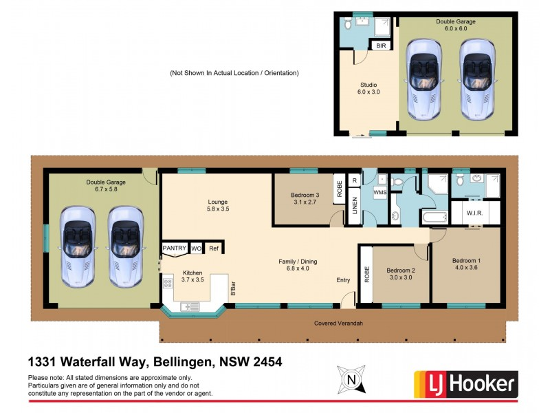 1331 Waterfall Way, Bellingen NSW 2454 Floorplan