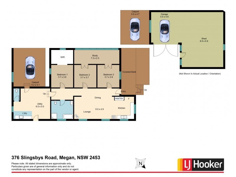 376 Slingsbys Road, Dorrigo NSW 2453 Floorplan