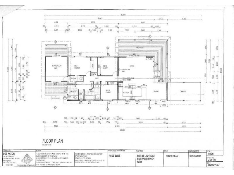 36 Lights Street, Emerald Beach NSW 2456 Floorplan