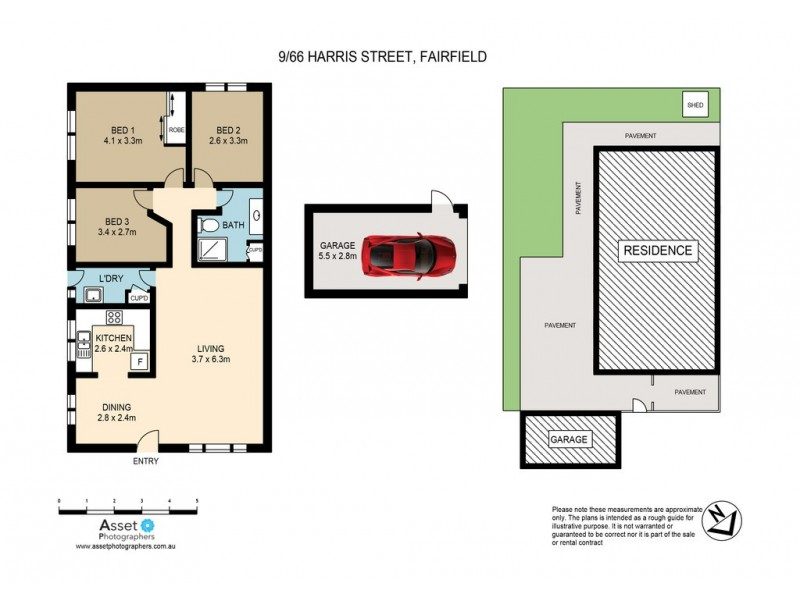 9/66-70 Harris Street, Fairfield NSW 2165 Floorplan