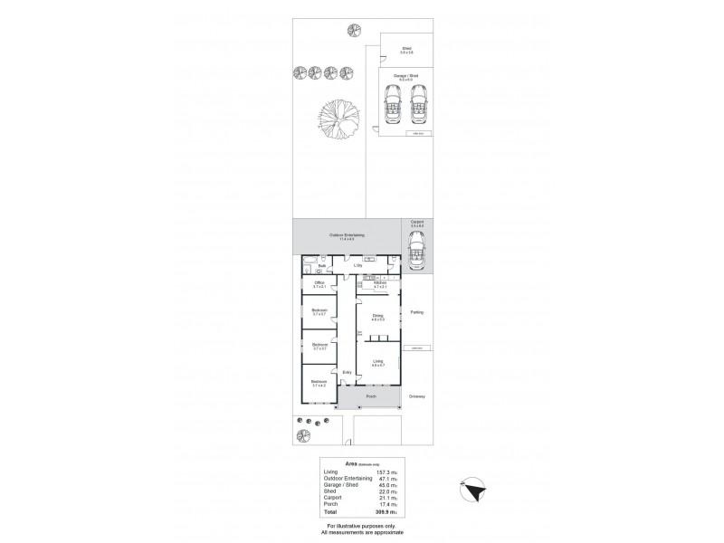 8 Jervois Street, Torrensville SA 5031 Floorplan