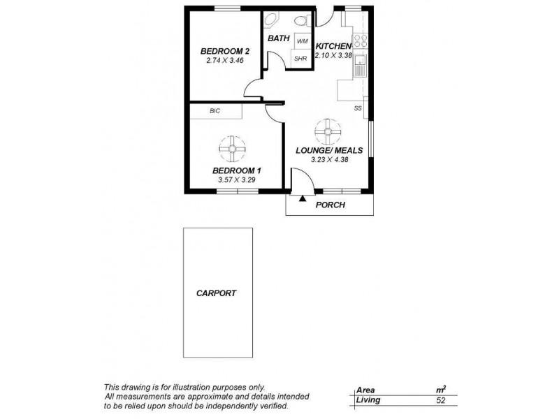 3/23 Emerald Street, Edwardstown SA 5039 Floorplan