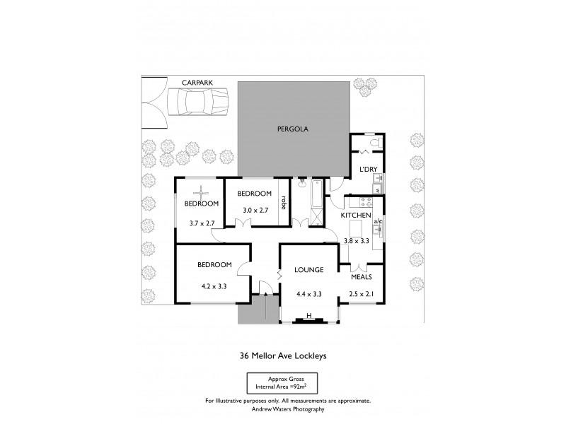 36 Mellor Avenue, Lockleys SA 5032 Floorplan