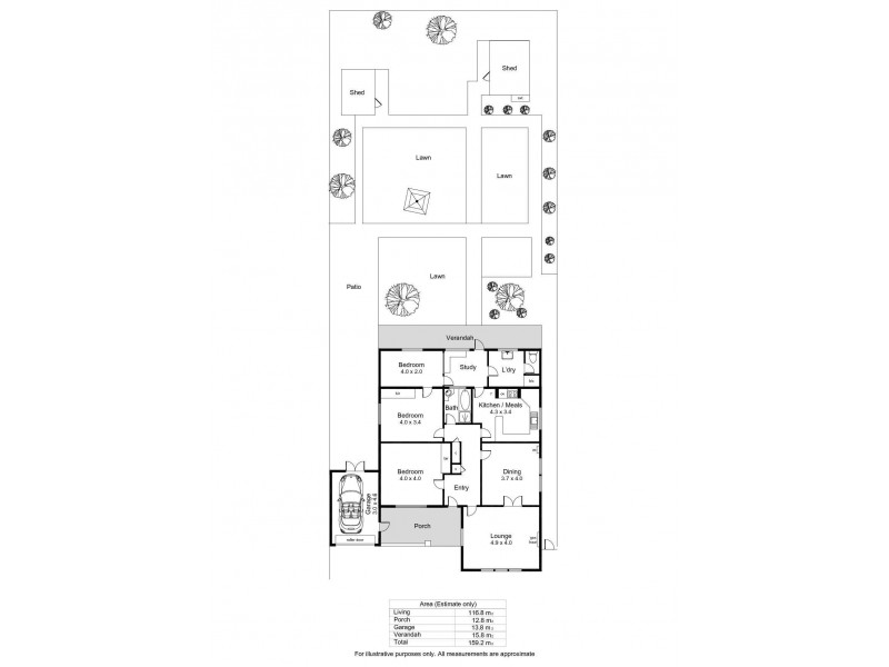 148 Raglan Avenue, South Plympton SA 5038 Floorplan