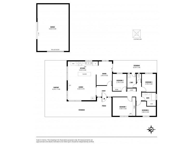 Lot 91 Stebonheath Road, Munno Para Downs SA 5115 Floorplan