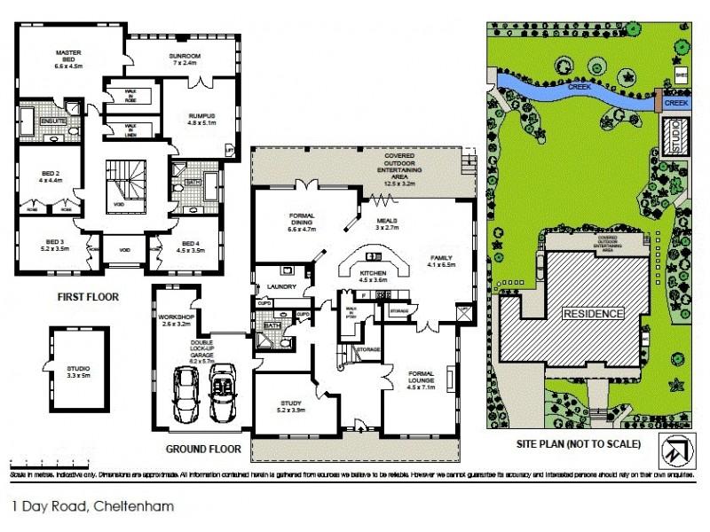 1 Day Road, Cheltenham NSW 2119 Floorplan