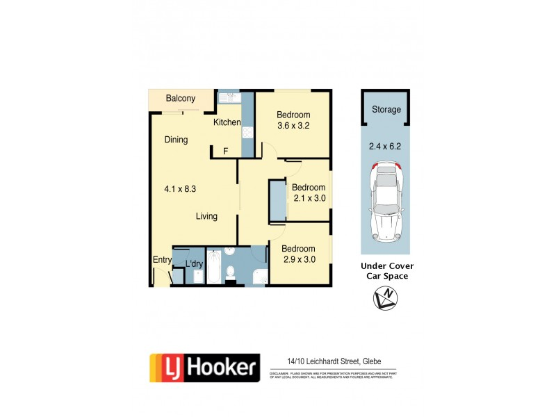 14/10 Leichhardt Street, Glebe NSW 2037 Floorplan