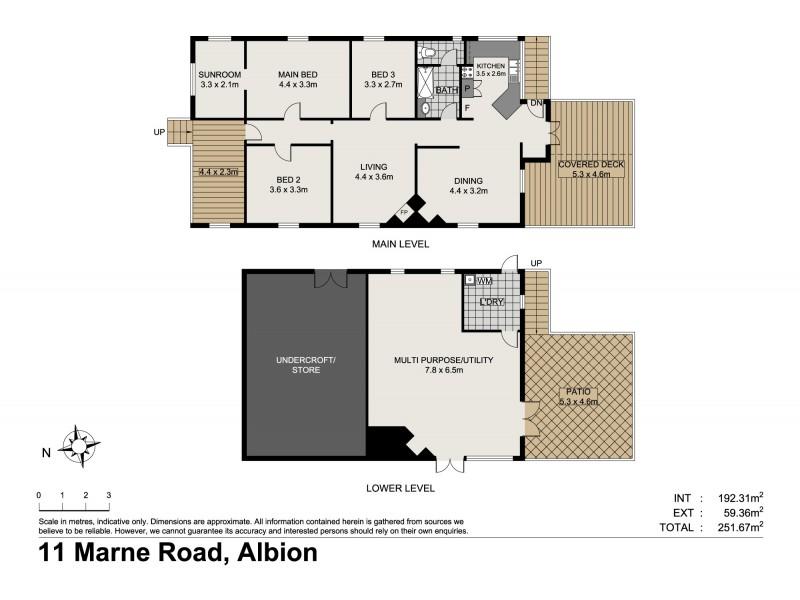 11 Marne Road, Albion QLD 4010 Floorplan