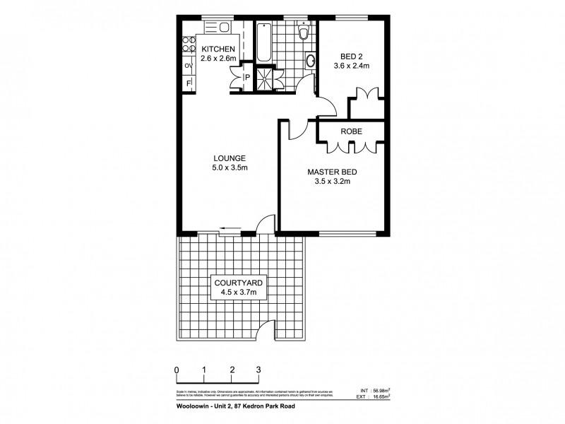 2/89 Kedron Park Road, Wooloowin QLD 4030 Floorplan
