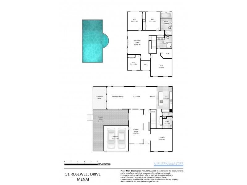 51 Rosewall Drive, Menai NSW 2234 Floorplan