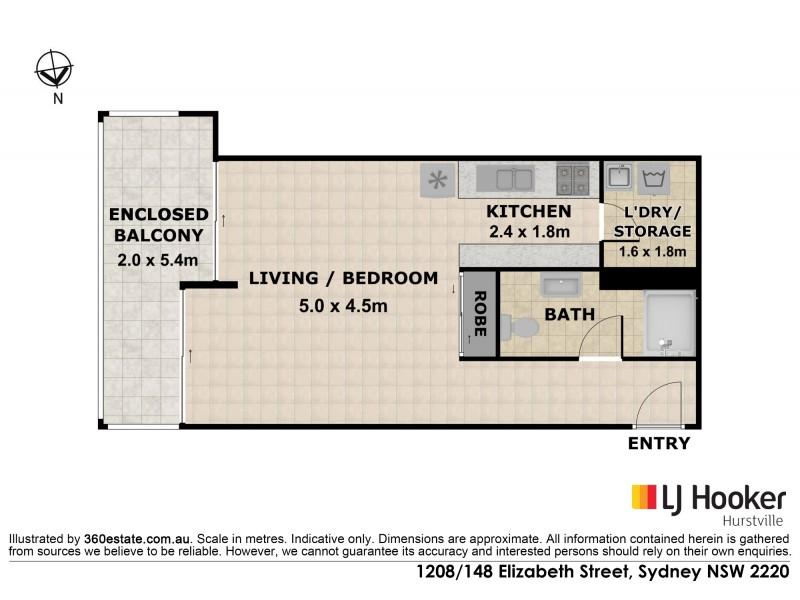 1208/142-148 Elizabeth Street, Sydney NSW 2000