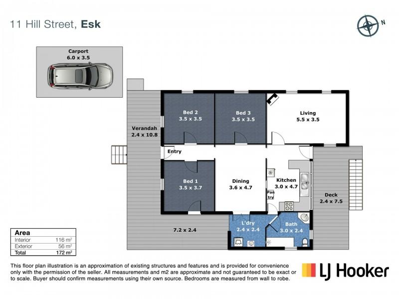 11 Hill Street, Esk QLD 4312