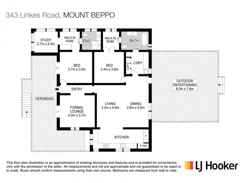 343 Linkes Lane, Mount Beppo QLD 4313