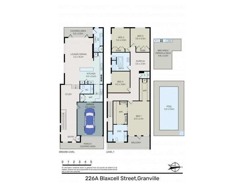 226A Blaxcell Street, Granville NSW 2142 Floorplan