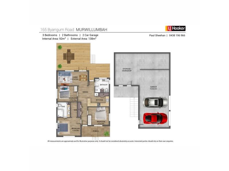 165 Byangum Road, Murwillumbah NSW 2484 Floorplan
