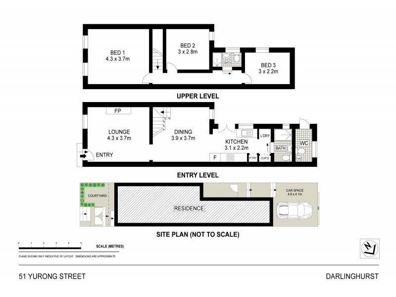 51 Yurong Street, Darlinghurst NSW 2010 Floorplan