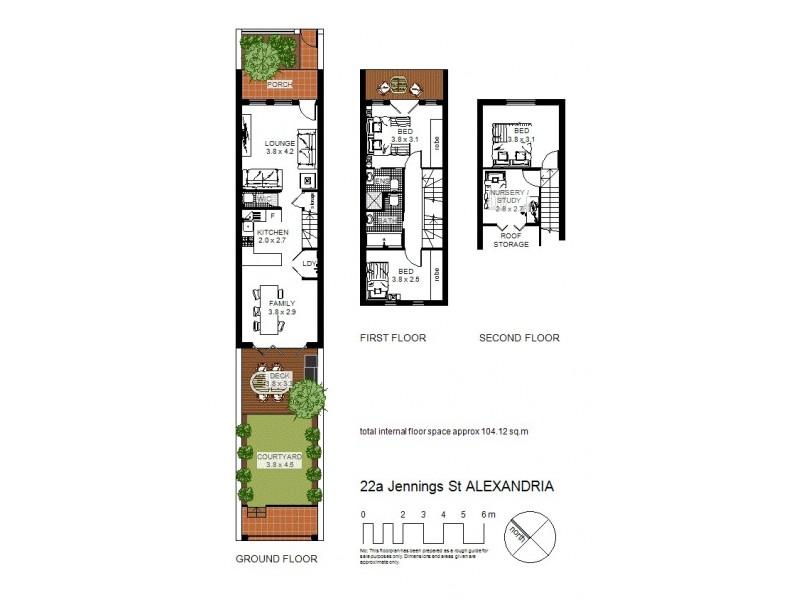 22a Jennings Street, Alexandria NSW 2015 Floorplan