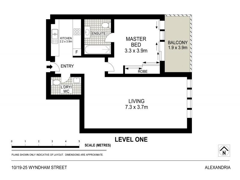 10/19-25 Wyndham Street, Alexandria NSW 2015 Floorplan