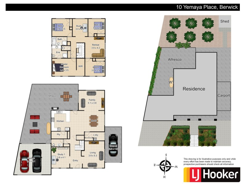 10 Yemaya Place, Berwick VIC 3806 Floorplan