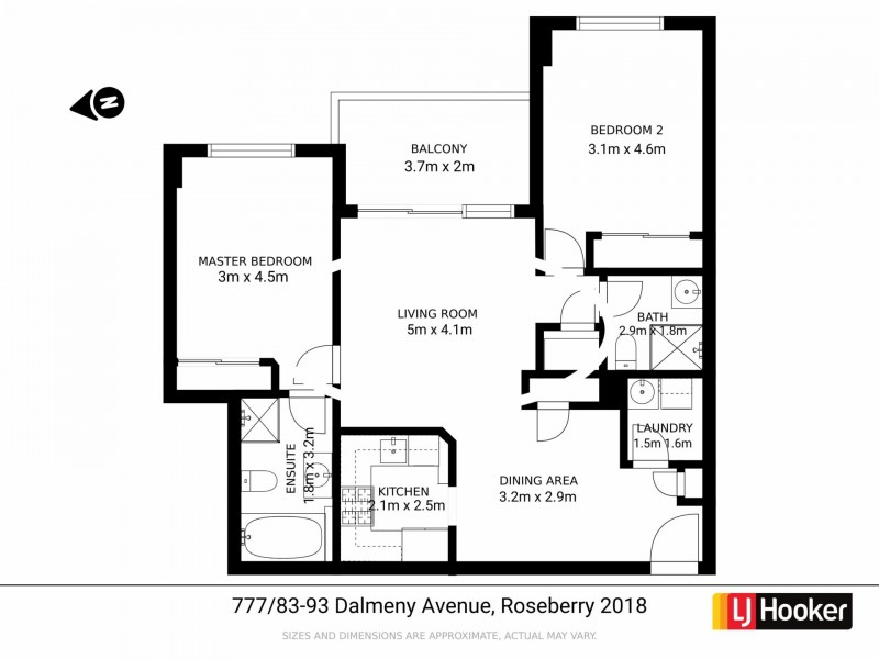 Apartment 777/83-93 Dalmeny Avenue, Rosebery NSW 2018