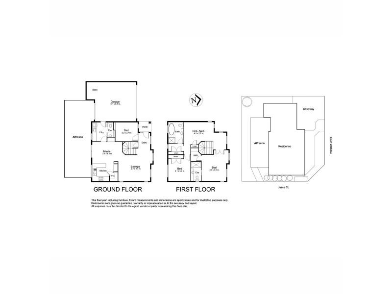 88 Waratah Drive, Altona Meadows VIC 3028 Floorplan