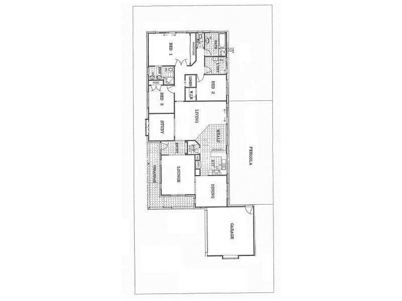 42 Truganina Avenue, Altona Meadows VIC 3028 Floorplan