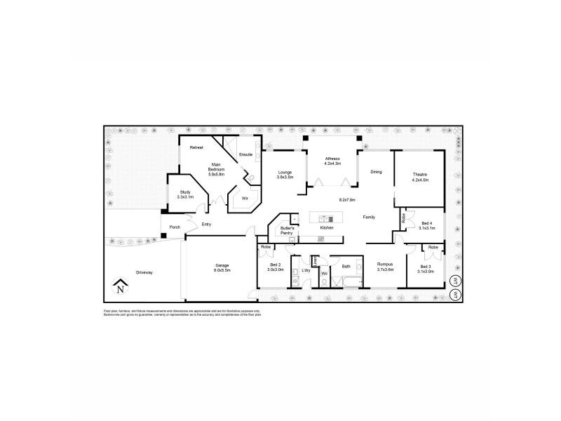 17 Marlin Crescent, Point Cook VIC 3030 Floorplan