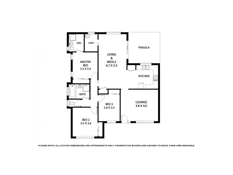 35 Hawkesbury Road, Werribee VIC 3030 Floorplan