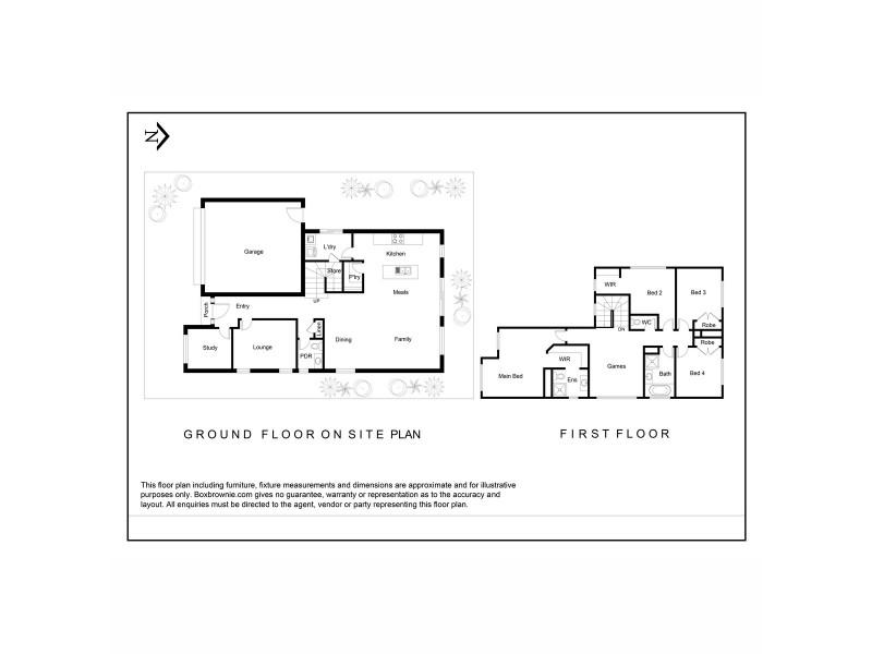 22 Marwood Avenue, Truganina VIC 3029 Floorplan