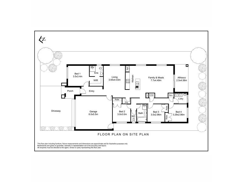 69 Grassbird Drive, Point Cook VIC 3030 Floorplan